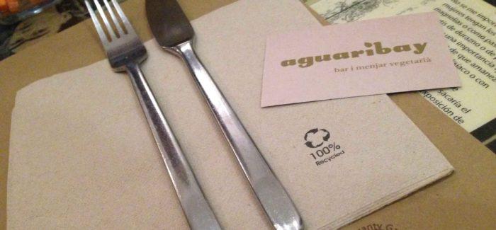 Restaurante vegetariano barcelonés Aguaribay