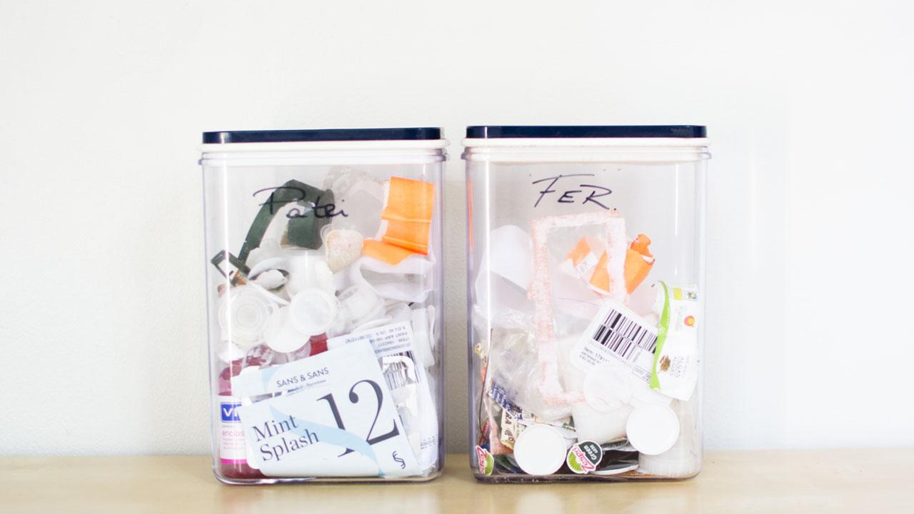 Únicos residuos plásticos julio