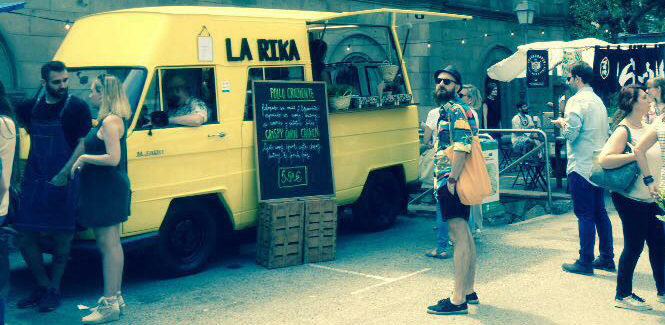 Taste All Those, mercado y street food ecológicos