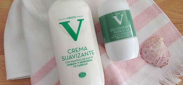 Crema suavizante y desodorante VIRIDIS